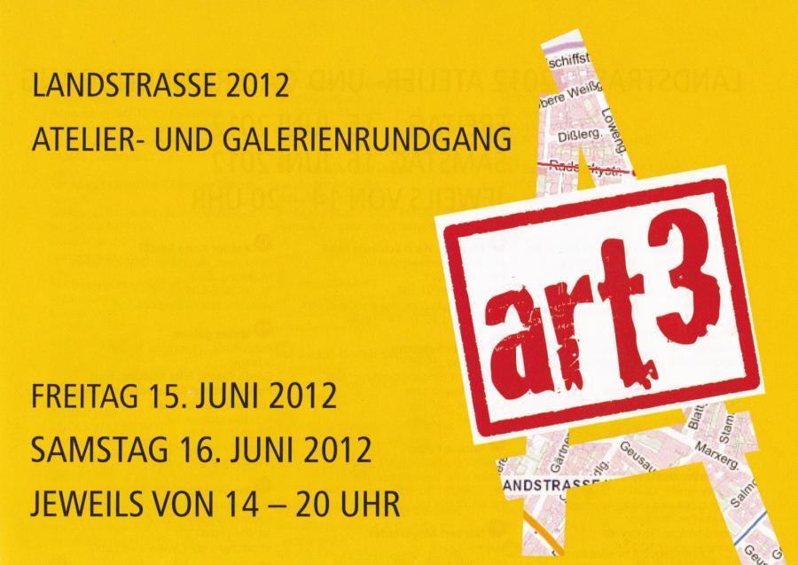 art³    Atelier- und Galerienrundgang 3. Bezirk Landstraße